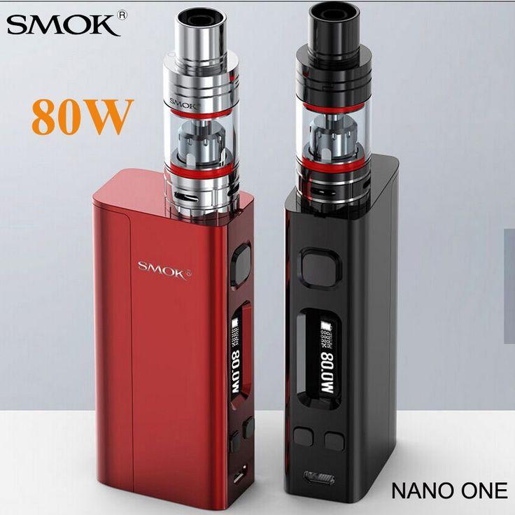 Electronic Cigarette SMOK Nano One Vape 80W Box Mod Kit Nano TFV4 Atta or Brit Atomizer Vaporizer E cigarette Hookah Pen X8003