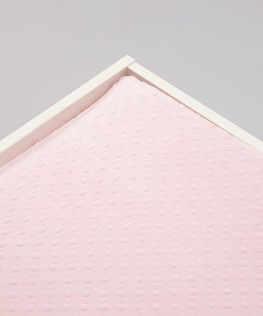 Look at this #zulilyfind! Baby Pink Minky Changing Pad Cover #zulilyfinds