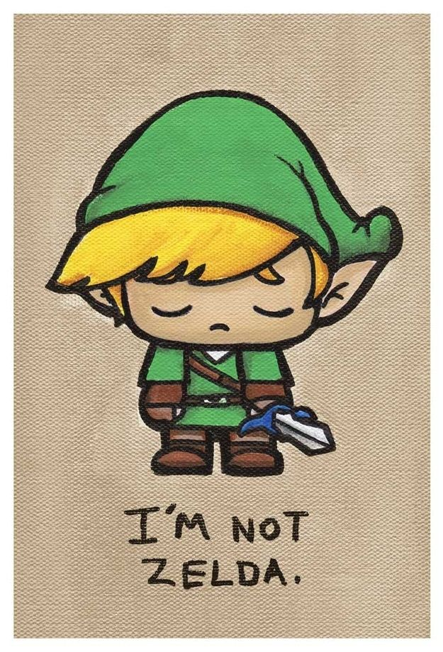 Link | 17 Adorably Emo Paintings Of Your Favorite Pop Culture Icons out of all of them, I like this one the most