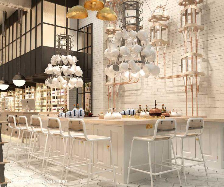 Collage de estilos en Artte: un espacio gastrocultural en Barcelona by Lázaro…