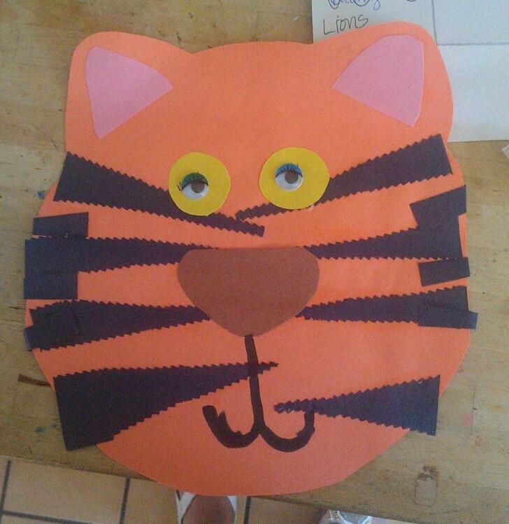 Tiger art for kids Preschool 501 best