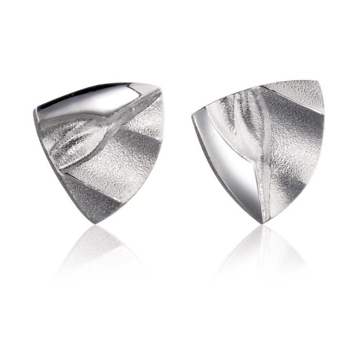 KIRI  Design Björn Weckström / Silver Earrings / Lapponia Jewelry / Handmade in Helsinki