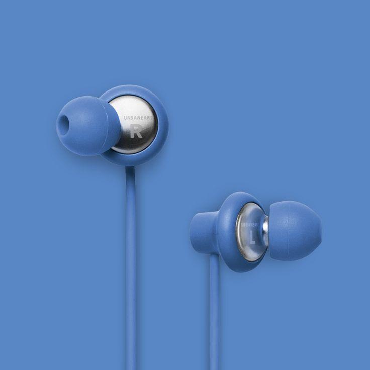 Urbanears Kransen Headphones in Forget-Me-Not