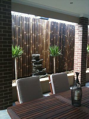 10 x Bamboo Fence Panels for Privacy Screens & Fencing - 2m (H) - 10m Coverage