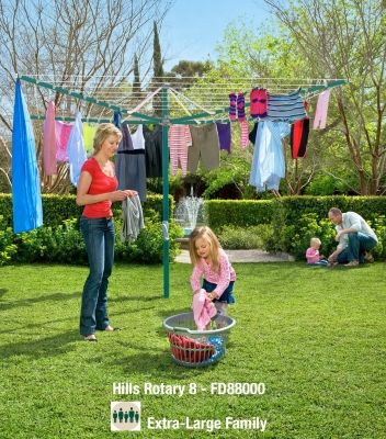Hills Rotary Clotheslines- Premium Range
