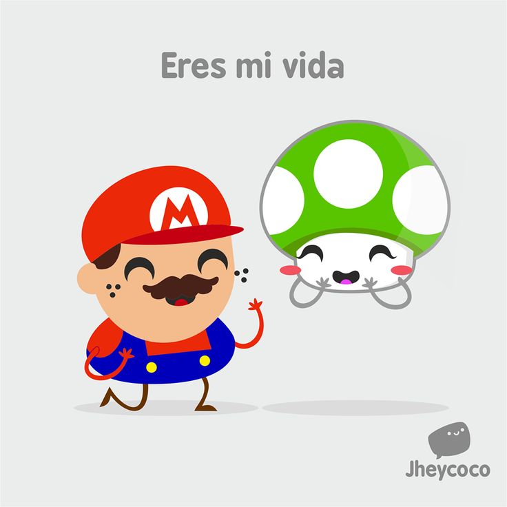 #jheycoco #jheyco #humor #literal #chibi #kawaii #cute #funny #ilustration #ilustración #lindo #amor #love #up #mario #Bross #1up #game #gamer #nintendo