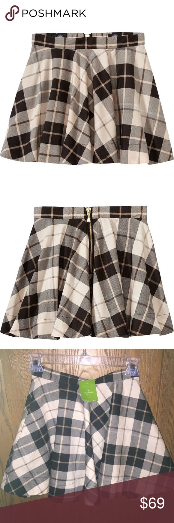 """Kate spade """"Skirt the rules"""" Woodland plaid skirt Never worn. New w/tags. Little girls Kate Spade """"Skirt the rules"""" plaid skirt♥️♥️ kate spade Bottoms Skirts"""