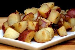 Using beer instead of water to cook potatoes is a wonderful way of infusing loads of flavor into ordinarily bland potato recipes. Choose any beer that you love to drink in these Beer Steamed Potatoes with Rosemary.