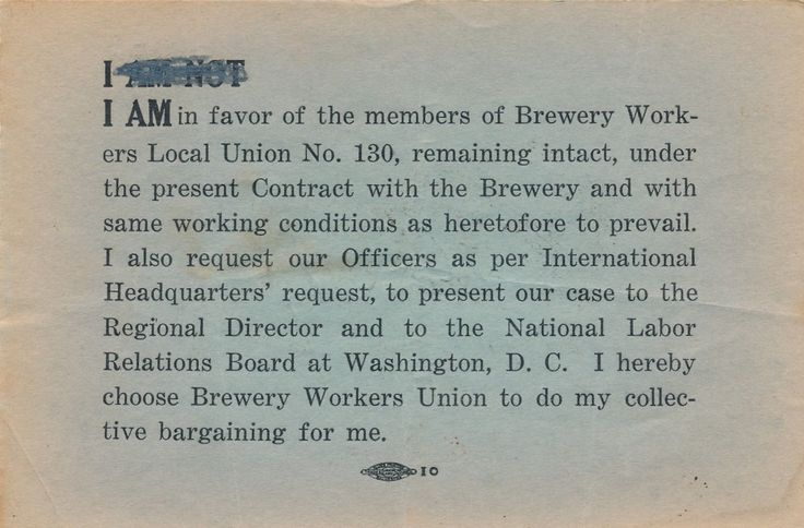Mouse over image to zoom      GALVESTON-TEXAS-BREWERY-WORKERS-LOCAL-UNION-BALLOT-I-AM-IN-FAVOR     GALVESTON-TEXAS-BREWERY-WORKERS-LOCAL-UNION-BALLOT-I-AM-IN-FAVOR  Details about  GALVESTON, TEXAS, BREWERY WORKERS LOCAL UNION BALLOT, I AM IN FAVOR