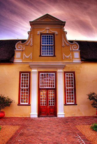 Vergelegen Wine Estate, South Africa ~ Cape Dutch architecture
