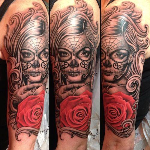 115 besten sleeve tattoos bilder auf pinterest tattoo. Black Bedroom Furniture Sets. Home Design Ideas