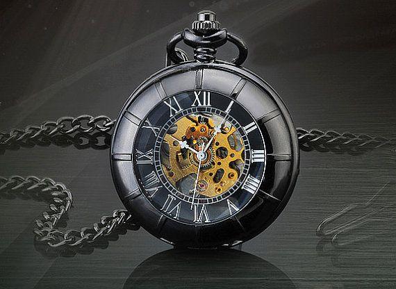 Herren Vintage Watch antike mechanische Hand Wind von CabanyCo