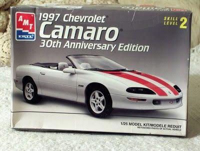 A Junkee Shoppe Junk Market Stop: CHEVROLET CAMARO 30th Model Kit AMT / ERTL 1/25 ... For Sale Click Link Here To View >>>> http://ajunkeeshoppe.blogspot.com/2015/12/chevrolet-camaro-30th-model-kit-amt.html