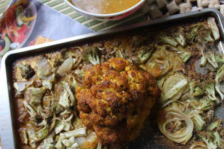 Resturant Style Tandoori Gobhi Musallam Recipe|Tandoori Mughlai Gobhi Recipe - Foodiezflavor.com