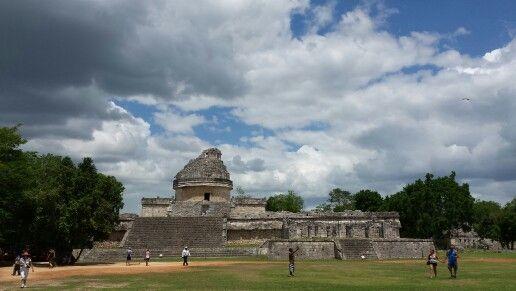 Observatorio,  Chichen Itza,  Yucatán