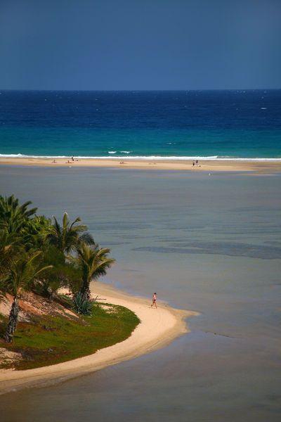 Spain, Canary Islands, Isla de Fuerteventura, Costa Calma by Lonely Planet Images