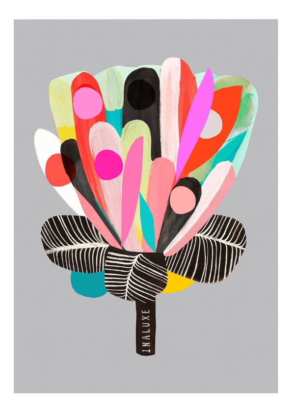 Protea - Flower Art Print   inaluxe