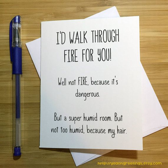Funny Friendship Card, Best Friend Card, Cute Love Card, Anniversary Card, Love Greeting Cards, BFF Card, Romantic Card, Card for Husband
