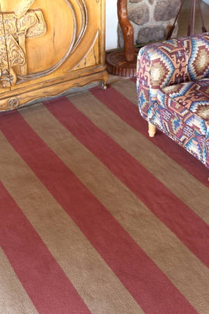 Wide Stripes Of Brick Red And Brown Combine In This Cotton Rug. Dash U0026  Albert Yacht Stripe Brick Woven Cotton Throw Rugs Are Hand Loomed Flat  Weave, ...
