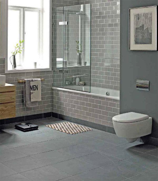Las 25+ mejores ideas sobre Cuartos de baños grises en ...