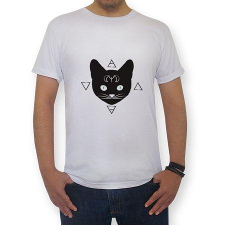 Camiseta Gatos!Pretos do Studio Eveline por R$65,00