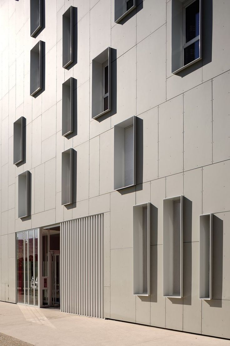 EQUITONE facade panels. Residential project in France. www.equitone.com