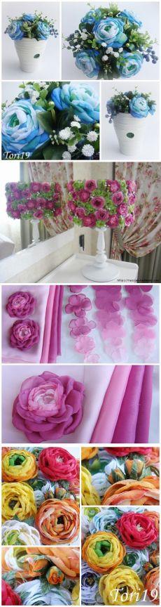 БУКЕТ ИЗ СТАРОЙ ЛАМПЫ и цветы из ткани