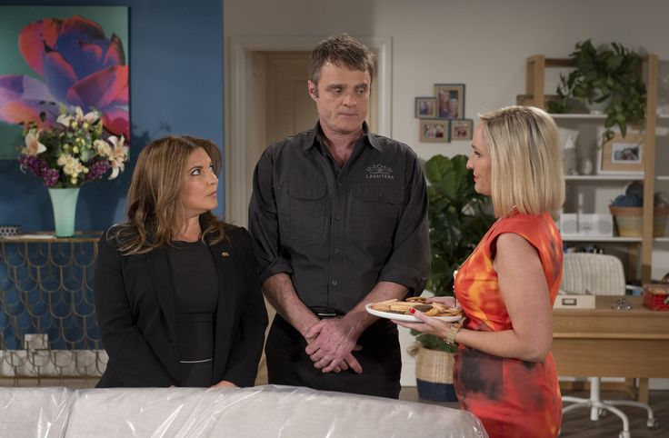 Wednesday, April 12: Xanthe's mum and Gary's ex Brooke Butler is back on Ramsay Street  - DigitalSpy.com