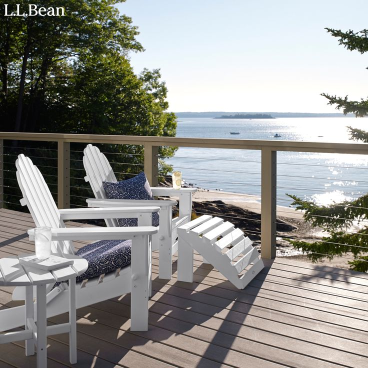 From L.L.Bean · Built In New York From Select American Hardwoods, Made For  Summertime Loungingu2014in A