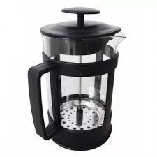 cafetera infusiones de vidrio c/embolo 300ml jaez regalos