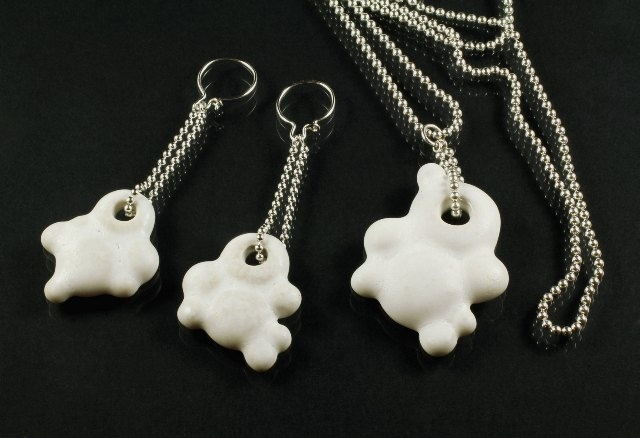 Wonderland jewellery collection by Tytti Lindström