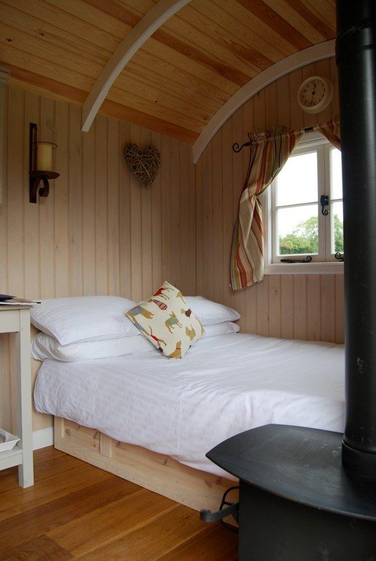 How cool would it be to put your guests up in your very own Shepherds hut.