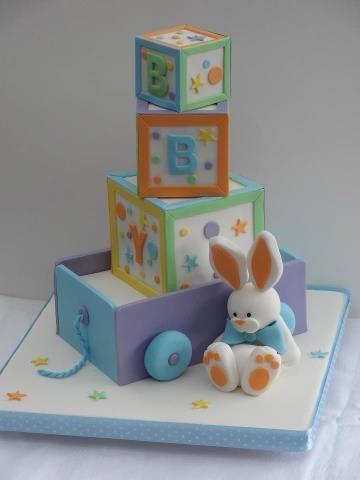 Baby Blocks by Cakes By Jane  Design Credit: Debbie Brown