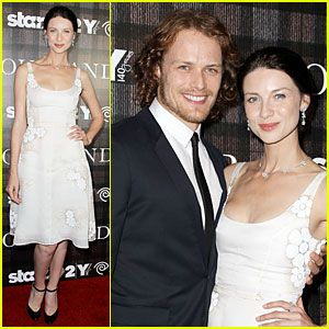 Sam Heughan & Caitriona Balfe Are Picture Perfect at