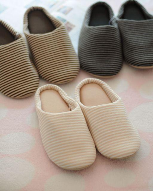 2015 nowy przyjazd moda kobiety i mężczyzny buty domu, Solidna stripe corduroy pantofle słodkie pary kryte buty darmowa wysyłka s0193