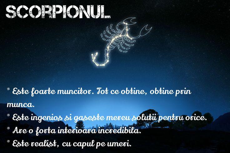 Ce ne place la zodia Scorpionului