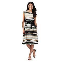 Maine New England - Multi-coloured striped print dress