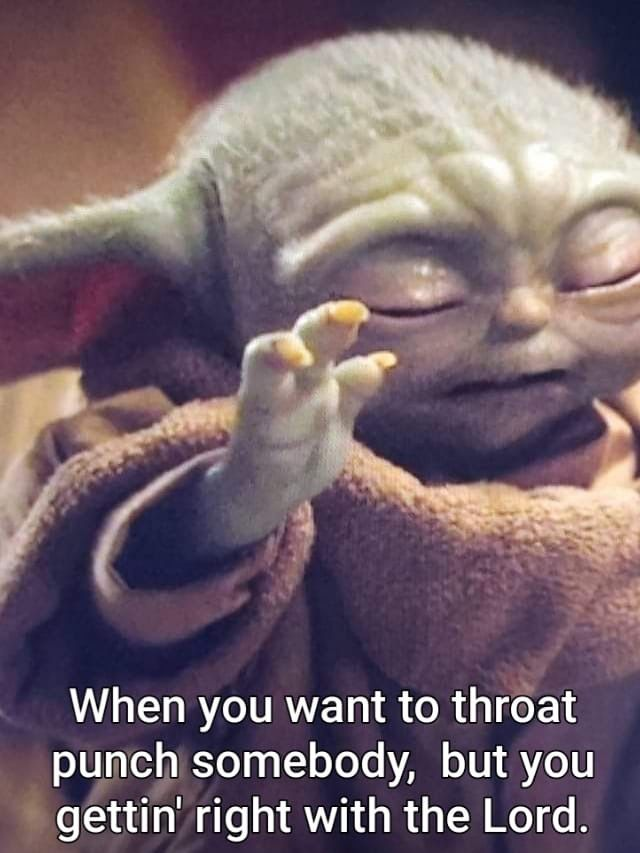 Pin By Jason Campbell On Geek Pics For The Geek In Us All Yoda Meme Funny Relatable Memes Humor