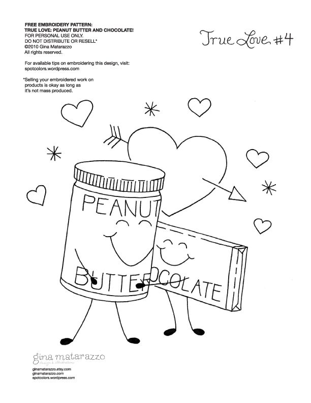 a lot of candy coloring pages   Embroidery - Chocolate and Peanut Butter (Lots of Great ...