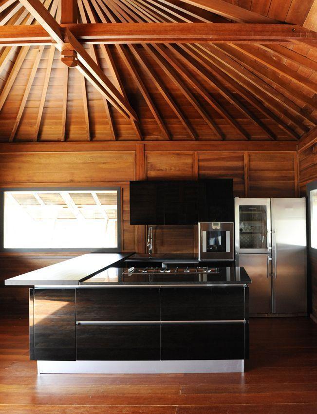 Villa construction bois avec Mobiteck maison bois massif Villa de