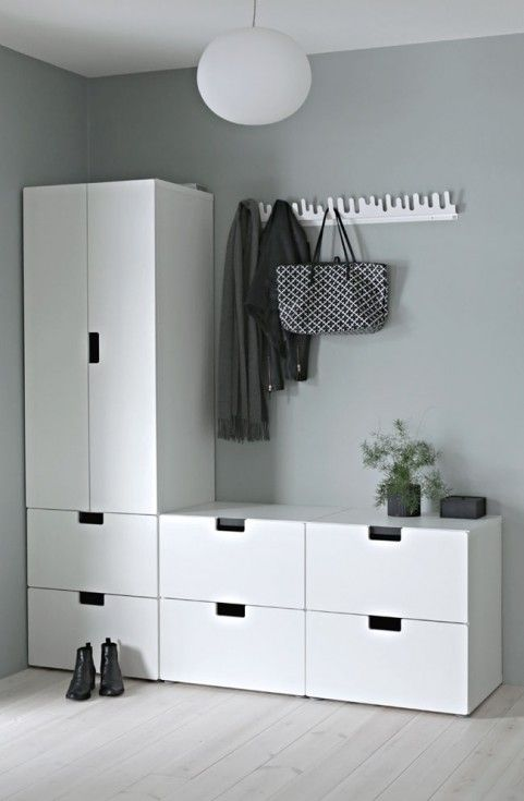 oltre 25 fantastiche idee su ikea idee ingresso su pinterest panca della tv look pottery barn. Black Bedroom Furniture Sets. Home Design Ideas