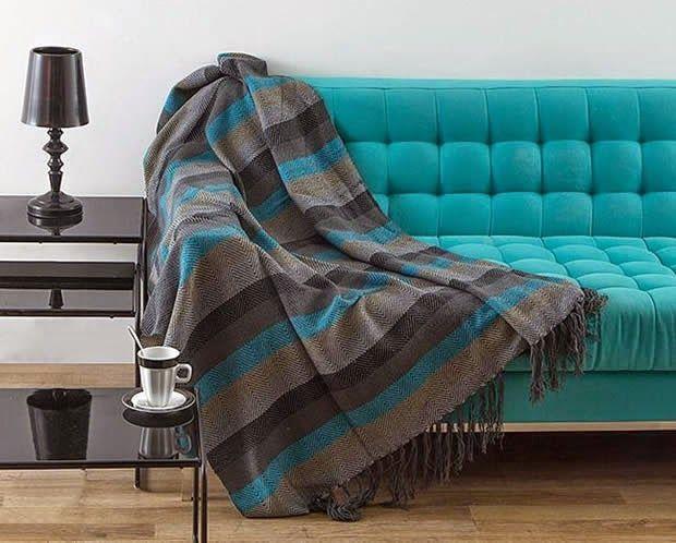 Mantas para sofá: proteção, conforto e charme!