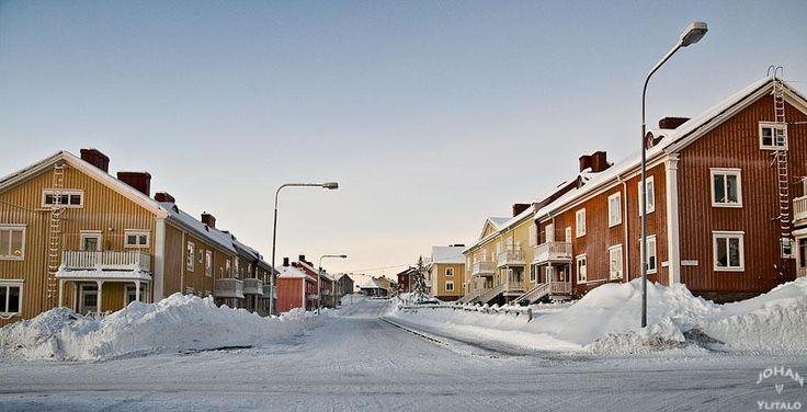 Hermelinsgatan. Kiruna.