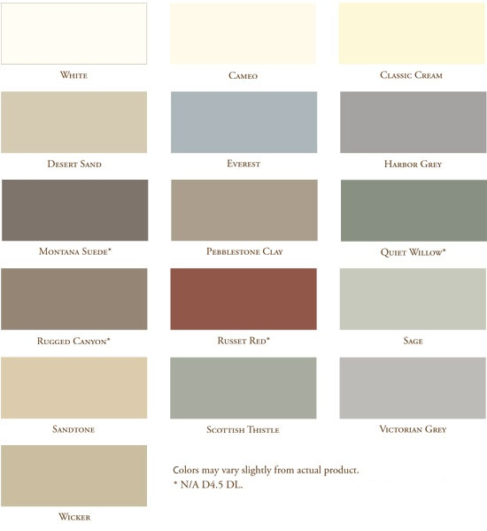 Vinyl Siding Colors Vinyl Siding Color Exterior Siding
