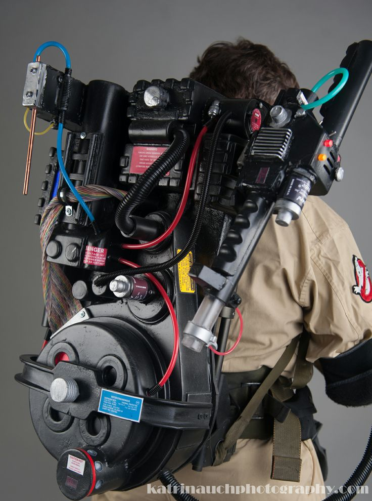 Ghostbusters prop proton pack replica by VikingProps