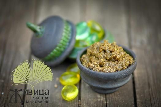 Бельди - травяная мыльная паста! Оригинальный подарок для бани и ванны!  На основе натурального калийного мыла, мы изготавливаем замечательное мыло с добавлением душистых трав и мёда.  Это особенное мыло. В его составе большой процент составляют травы. Имеет характерный запах (за счет трав и эфирного компонента) и по текстуре напоминает раз- мягченное сливочное масло, благодаря чему легко наносится на тело. Мыло богато вита- мином Е и подходит для всех типов кожи.  Травяное мыло идеально…