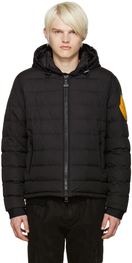 moncler x off white dinard black