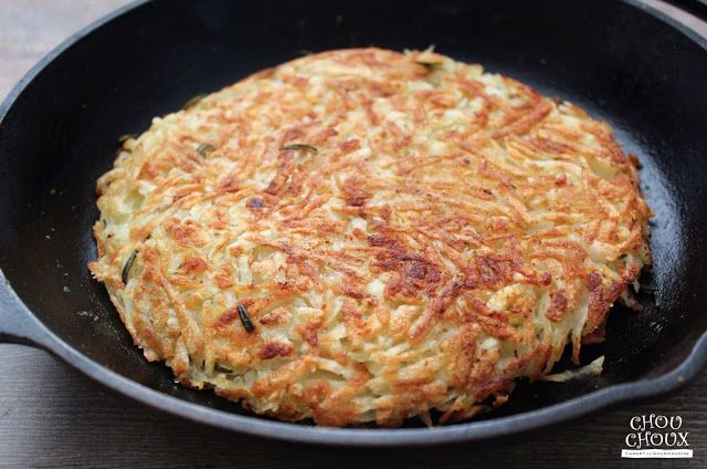 Rösti (Potato Pancake 瑞士風馬鈴薯絲煎餅)