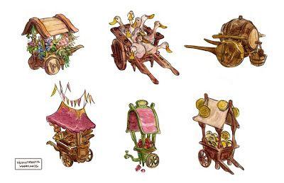 """El Mundo De Fawn: Arte Conceptual Disney: """"Enredados"""""""