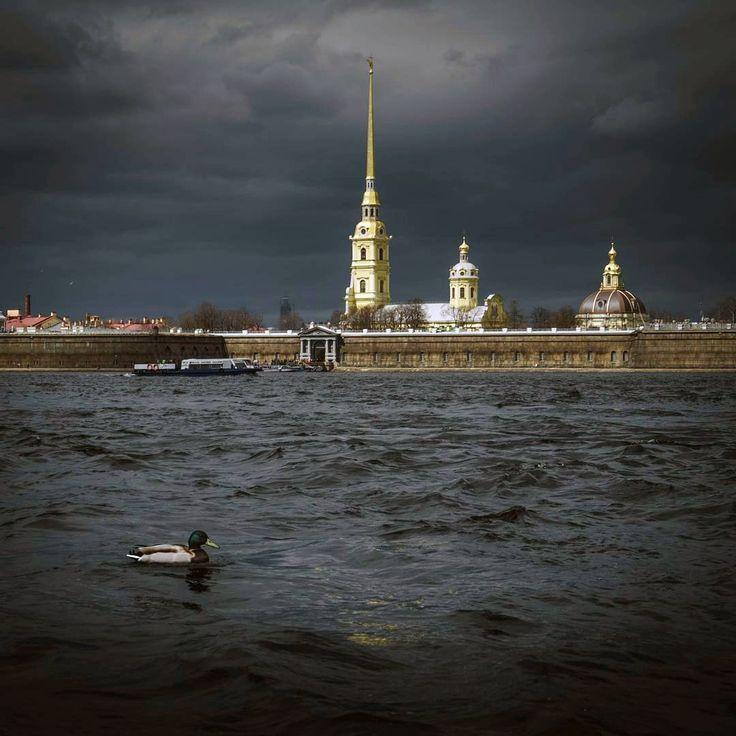 Петропавловская крепость.    Автор фото: Oleg Popov (Oleg_from_earth).